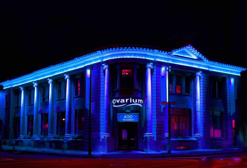 400 beaubien led bleue spa ovarium rosepatrie