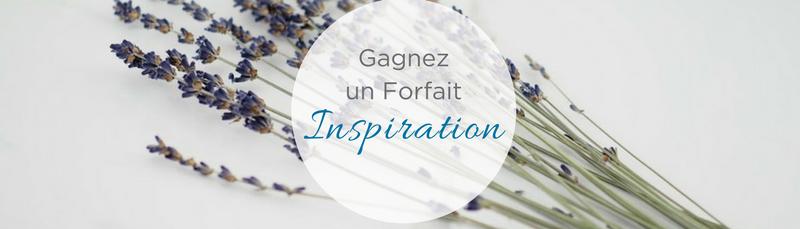 Gagnez inspiration