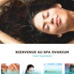 capture site web spa ovarium acceuil