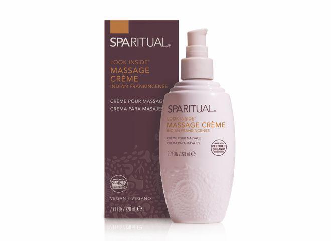spa ritual massage creme encens indien