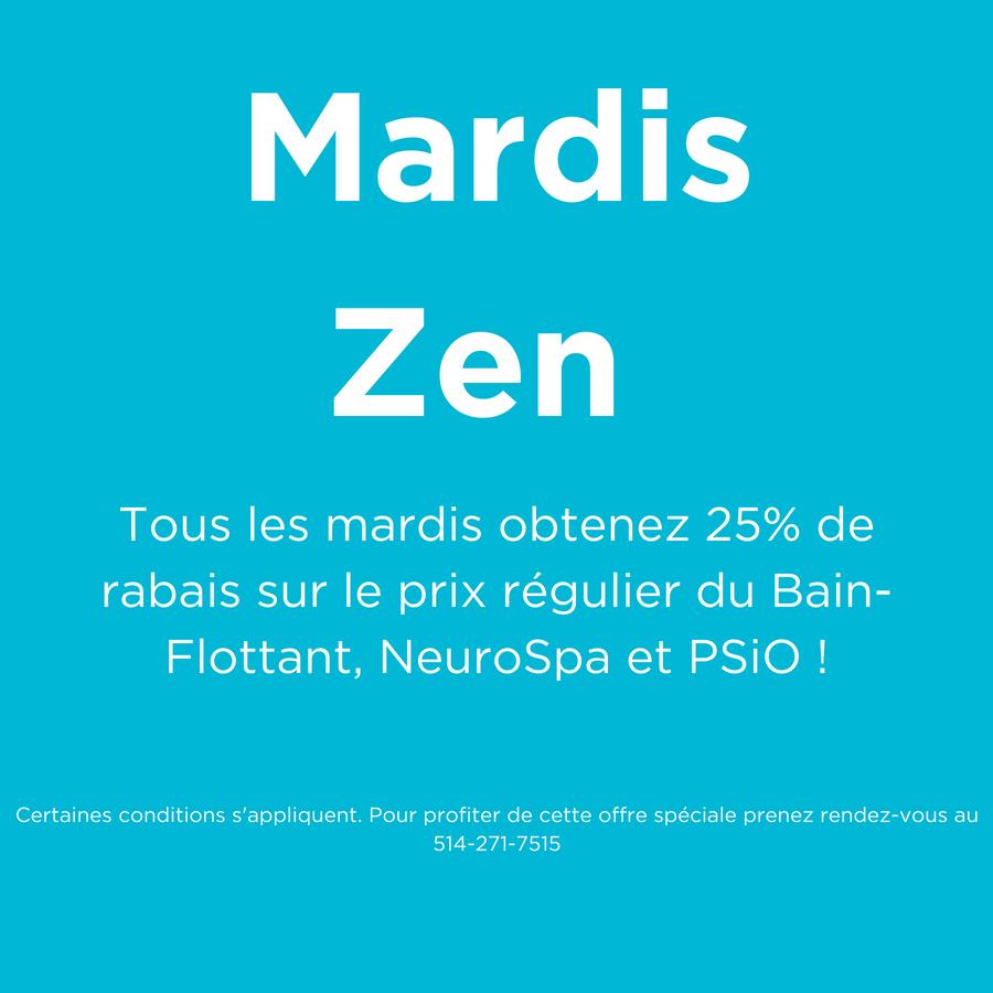Mardis Zen detaillee