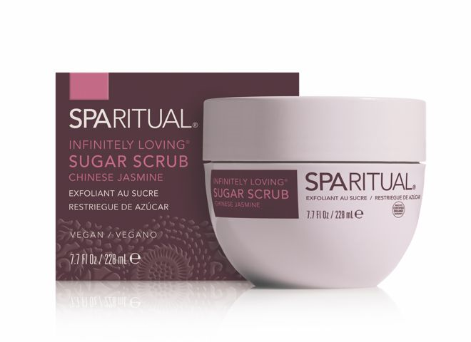 exfoliant sucre sparitual jasmin