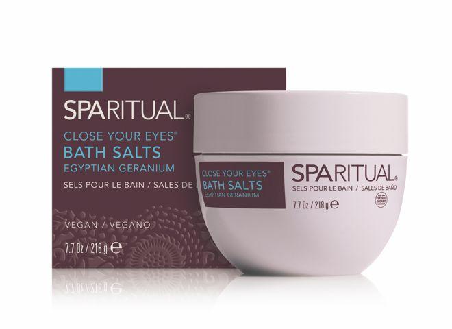 sparitual sel bain bat salts geranium